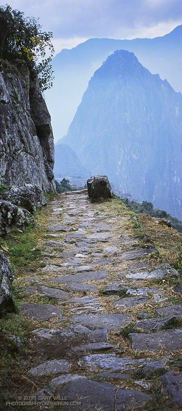 Inca Trail Above Machu Picchu