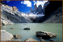 Lake at Torres del Paine